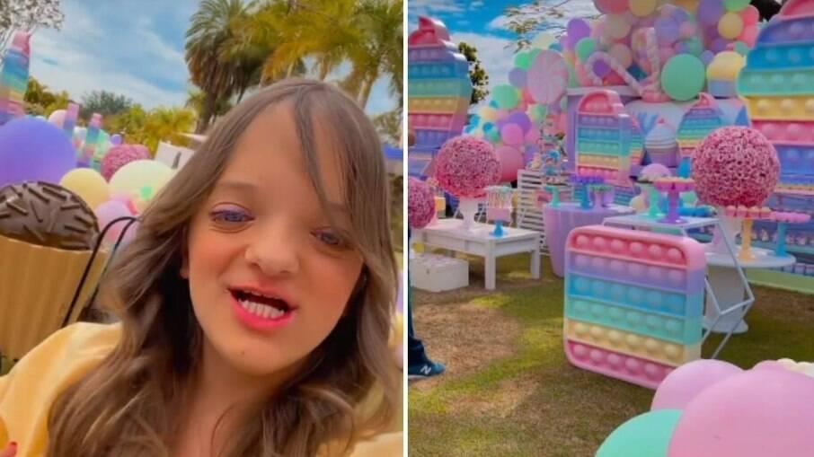 Rafinha Justus comemora 12 anos com festa