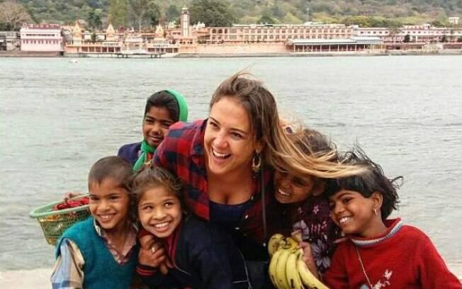 Gilsimara já viajou por mais de 92 países desde que fez seu período sabático, mas confessa que a Índia é especial