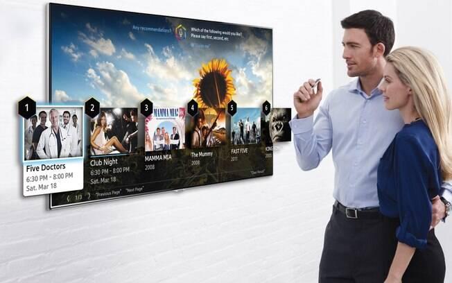 Samsung mostrará novas formas de interagir com a TV na CES 2014