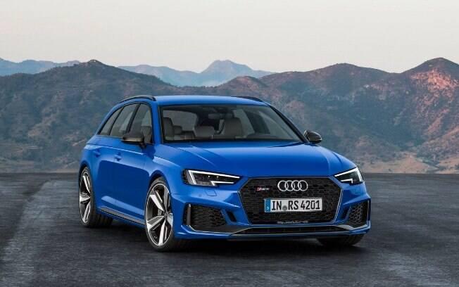Audi RS4: Perua do Salão do Automóvel 2018 poderá ser uma boa pedida para quem quiser doses de adrenalina e tecnologia