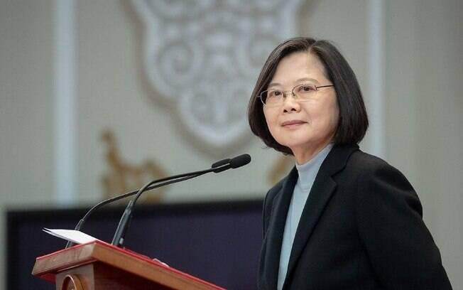 Tsai Ing-wen é a atual presidente de Taiwan.