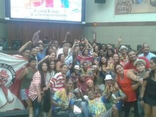 Acadêmicos de Venda Nova e Mulatos do Samba comemoram título na Câmara Municipal de BH