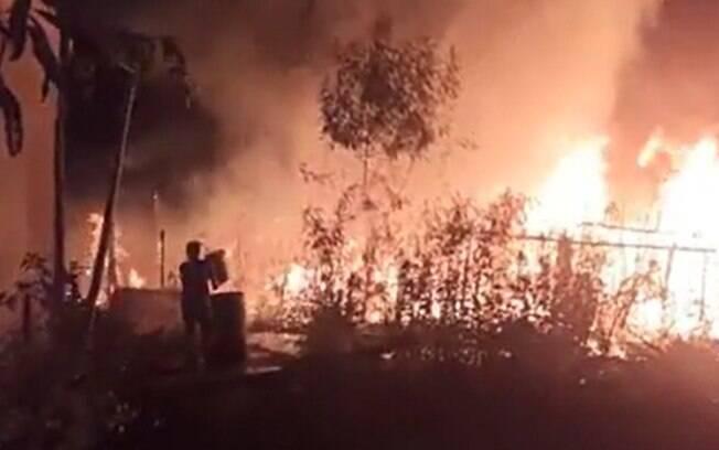 Novo incêndio atinge ocupação de Hortolândia