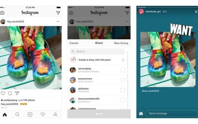 Fique de olho! O novo recurso do Instagram deve chegar para os usuários de iOS somente na próxima semana