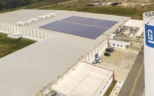 Fábrica da GM em Joinvile, onde são montados os motores de modelos como Onix, Prisma e Cobalt