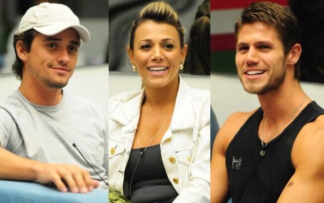 Fael, Fabiana e Jonas