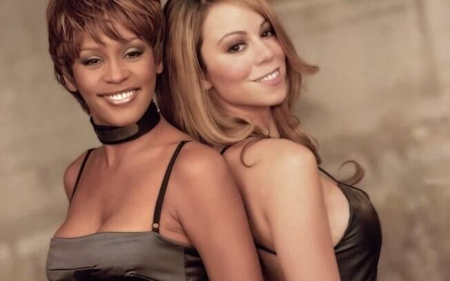 Mariah Carey compartilhou  uma foto com Whitney Houston para relembrar a amizade e homenageá-la em seu aniversário