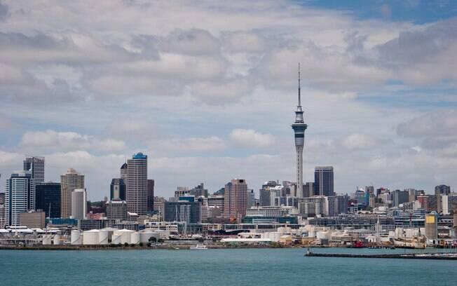 Auckland é a cidade mais popular entre os brasileiros que vão a Nova Zelândia, país