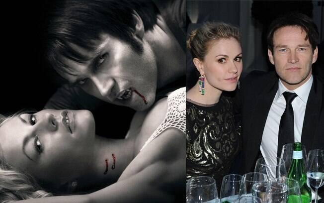 Anna Pakin e Stephen Moyer começaram a namorar durante as gravações da série