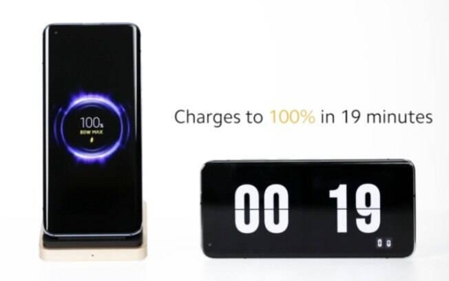 Xiaomi mostra recarga rápida sem fio de 4.000 mAh em 19 minutos