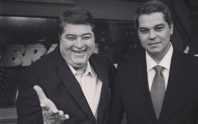 José Luiz Datena e Vicente Datena