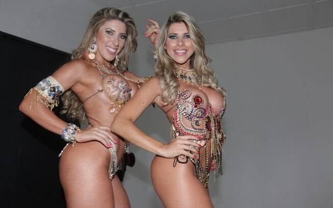 Tatiane e Ana Paula Minerato