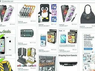 eBay já tem site brasileiro com produtos e preços em português