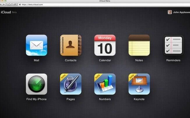 Aplicativos Pages, Numbers e Keynote serão colocados na área de trabalho do iCloud na web em breve