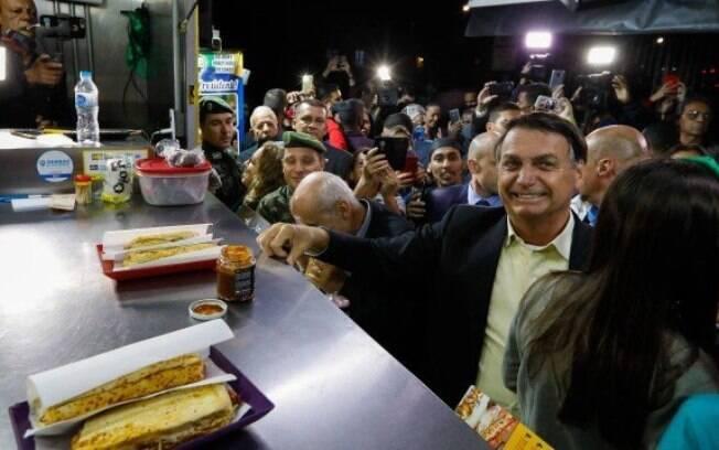 Presidente está em Resende, no Rio de Janeiro