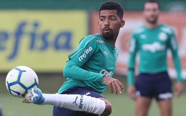 Matheus Fernandes, volante do Palmeiras