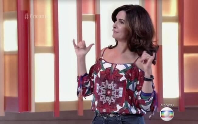 Fátima Bernardes comanda um programa inclusivo e divertido