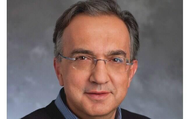 Sergio Marchionne é o chefão da FCA, mas ficará no cargo apenas até o ano que vem, quando será substituído