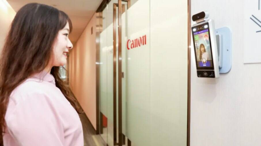 Canon instalou câmeras de reconhecimento facial em seus escritórios na China