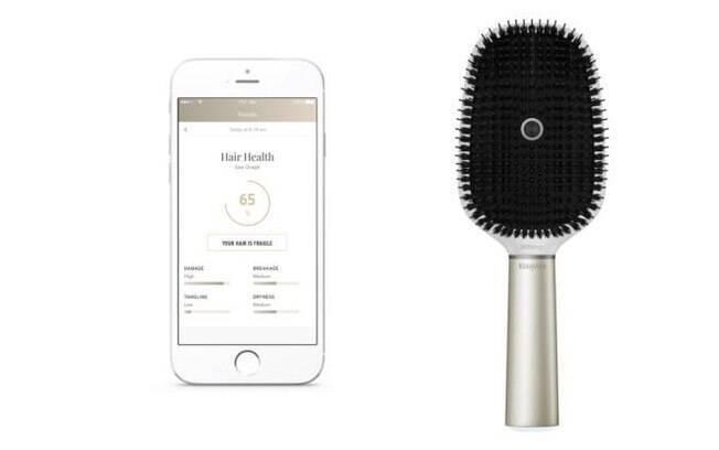 Escova de cabelo inteligente, Kerastase Hair Coach Powered