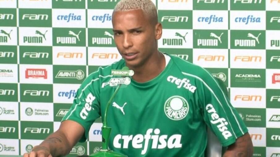 Deyverson está de volta ao Palmeiras