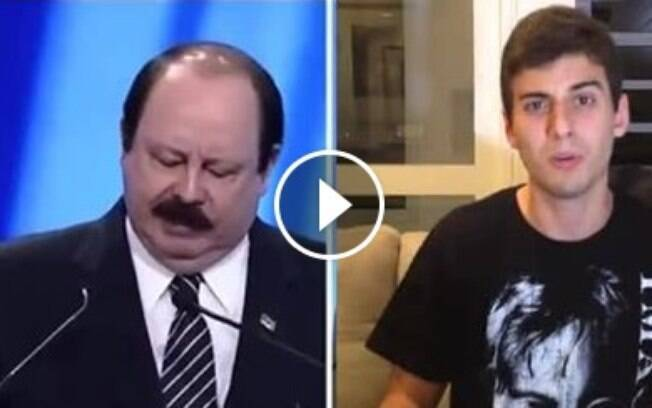 Jovem artista responde aos insultos homofóbicos de Levy Fidelix em video
