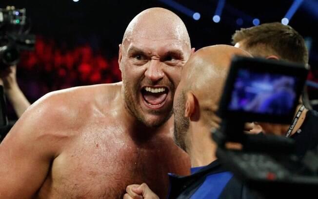 Tyson Fury após evento em Las Vegas