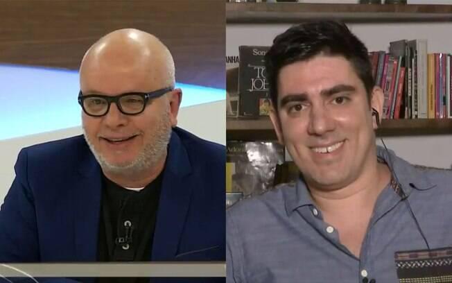 Marcelo Tas é criticado após questionar posicionamento político de Andet
