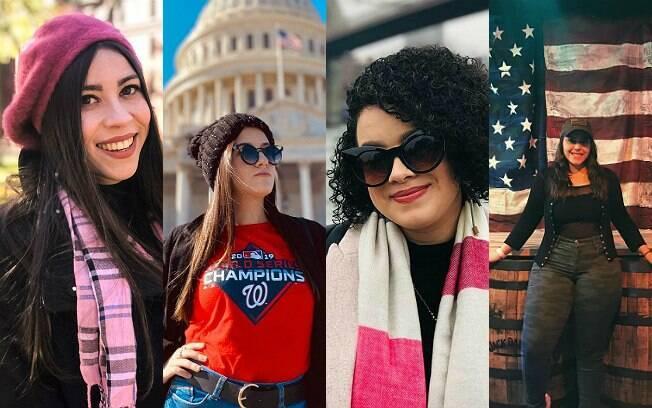 Giovanna, Natalia, Suenia e Liliane: Au Pairs nos EUA, elas enfrentam as dificuldades da pandemia longe do Brasil