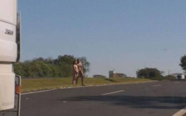 Segundo testemunhas, casal estava agitado e com desidratação