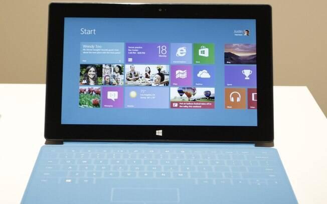 Tablet Surface, da Microsoft, chega às lojas dos EUA na próxima sexta-feira (26)