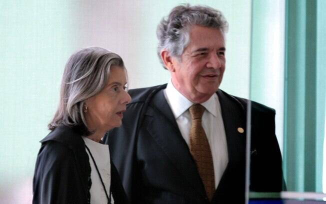 Ministros do STF Cármen Lúcia e Marco Aurélio: prisão após 2ª instância causa embates na Corte