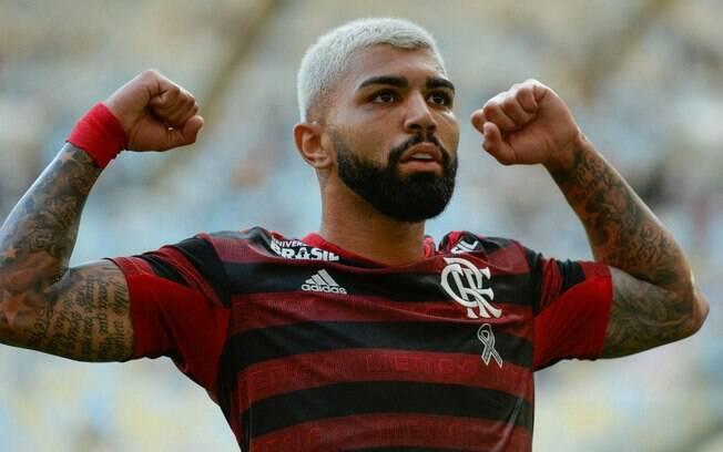 Gabigol é o artilheiro do Flamengo no ano