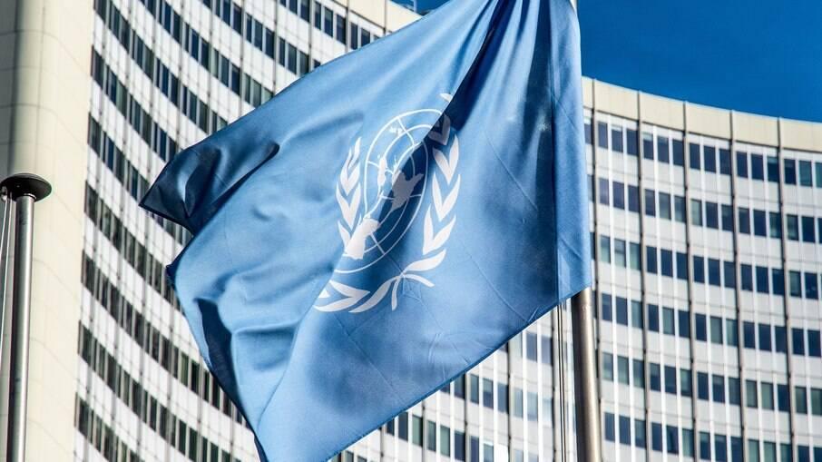 Bandeira da Organização das Nações Unidas (ONU)