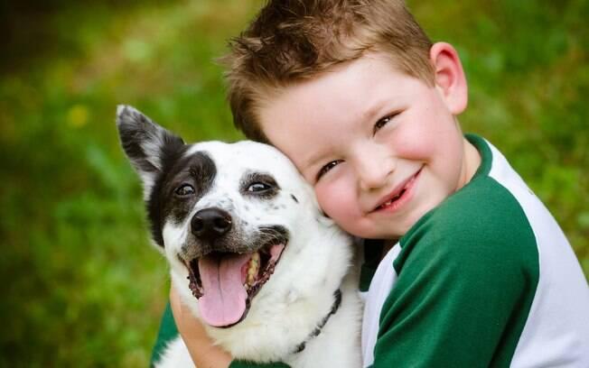 Algumas características são necessárias em cachorros para crianças