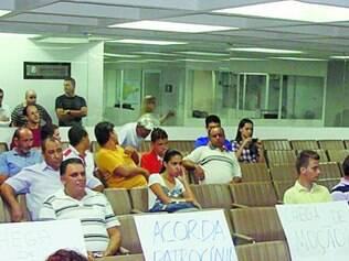 A Câmara de Patrocínio tem sido alvo de protestos populares