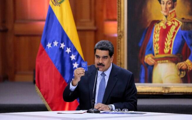 Nicolás Maduro tomou posse em 10 de janeiro para segundo mandato na Venezuela