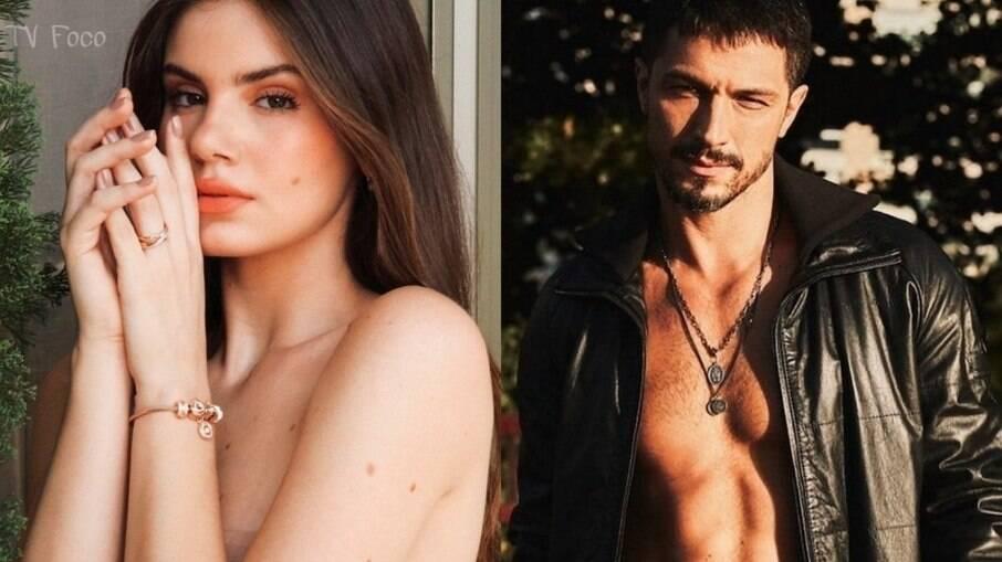 Camila Queiroz e Romulo Estrela terão um envolvimento em Verdades Secretas 2