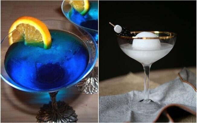 Para quem quer curtir um drinque vendo o eclipse lunar, algumas bebidas podem deixá-los 'intergalácticos'