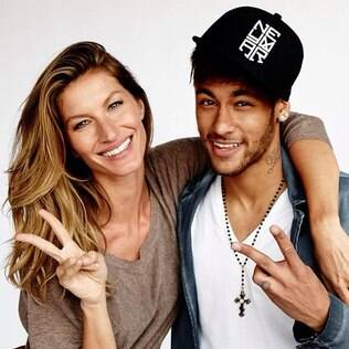 Gisele Bündchen e Neymar