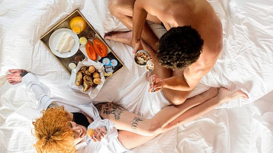 Café da manhã no Motel Lush