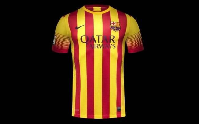 Nova camisa do Barcelona para temporada  2013-2014 - Modelo 2