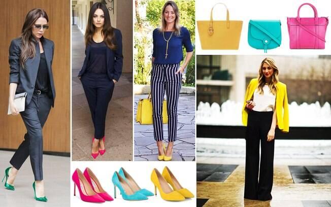 Mulheres clássicas podem apostar no look para entrevista de emprego com itens coloridos e estilosos