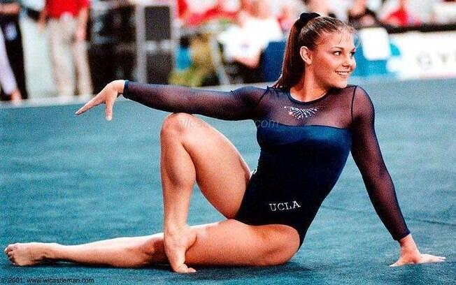 Jamie Dantzscher é uma das ginastas que foram vítimas no escândalo sexual nos EUA