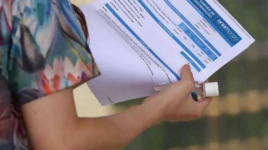 Exame Nacional do Ensino Médio 2020 teve recorde de abstenção