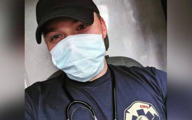 O socorrista James Richard é o autor do processo contra a Ambulanz