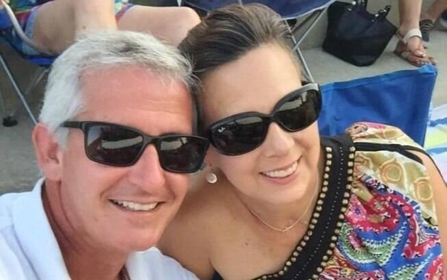 Angela Sartin-Hartung sofreu amnésia, mas o marido conseguiu fazê-la se apaixonar por ele novamente