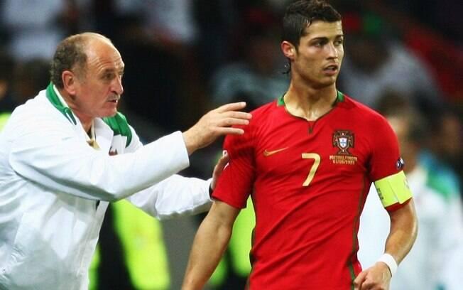 Felipão levou Portugal ao vice na Euro 2004,  ao quarto lugar na Copa do Mundo e seguiu com time  de Cristiano Ronaldo até a Euro de 2008
