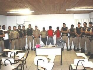 Trio foi detido durante operação conjunta entres as polícias Militar e Civil