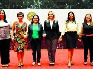 Mobilizadas.  Com sete mulheres atualmente, bancada feminina na Assembleia de Minas já foi maior com 11 parlamentares, em 2003